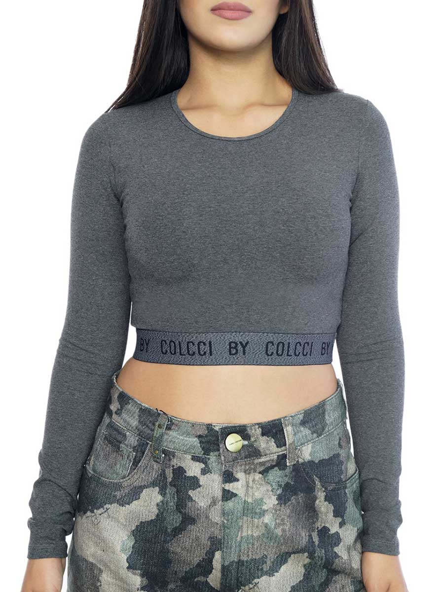BLUSA CROPPED - 87815