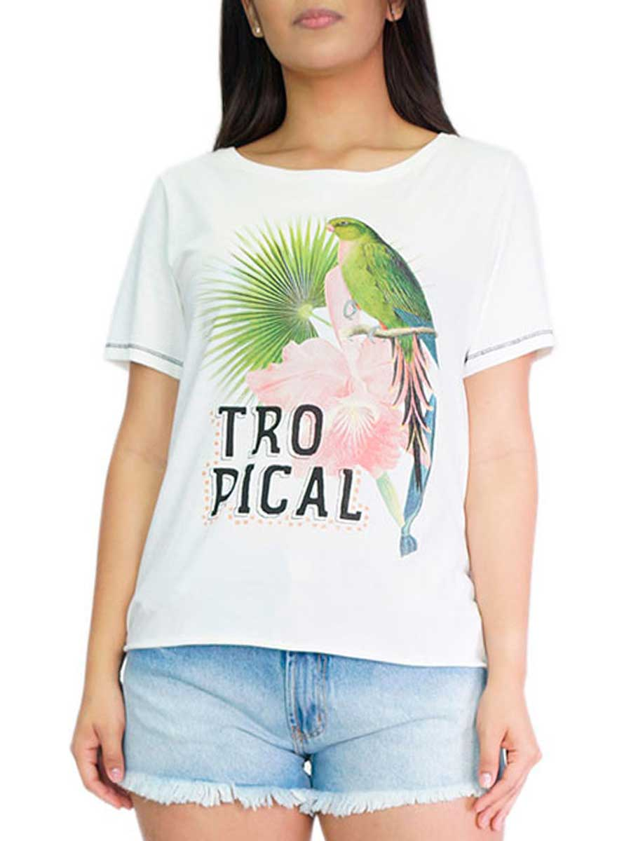 BLUSA TROPICAL BIRD 92410